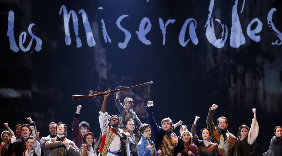 Gay kiss censored from 'Les Miserables' production in Singapore