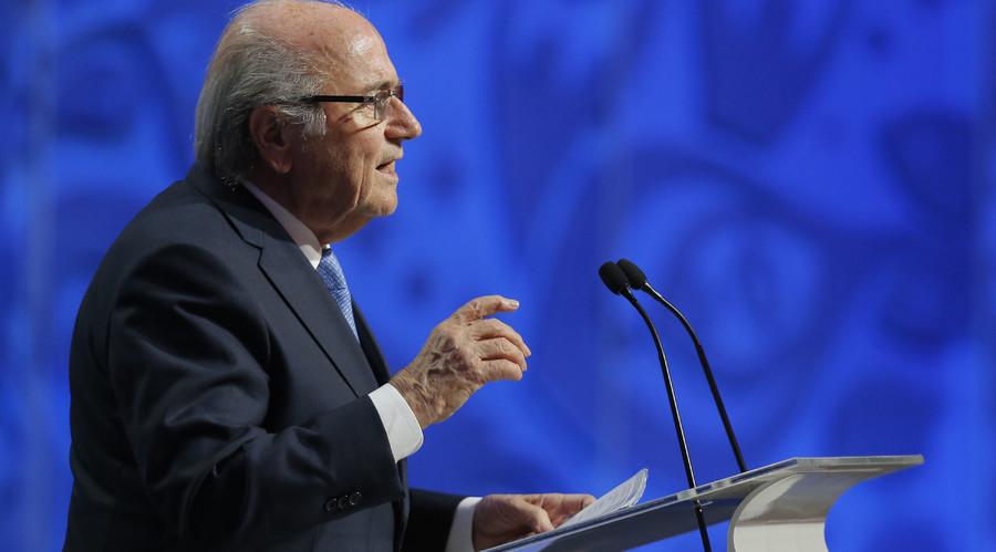 Former FIFA President Sepp Blatter. © Maxim Shemetov