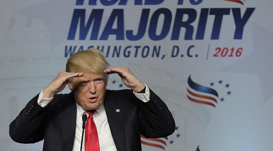 Republican U.S. presidential candidate Donald Trump © Joshua Roberts