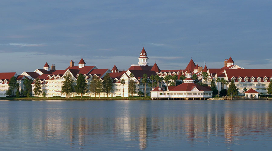 The Grand Floridian Resort and Spa located in the Magic Kingdom at Disney World in Orlando, Florida. © Charles W. Luzier