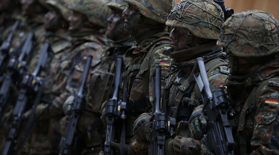 German Bundeswehr army soldiers. ©Michaela Rehle