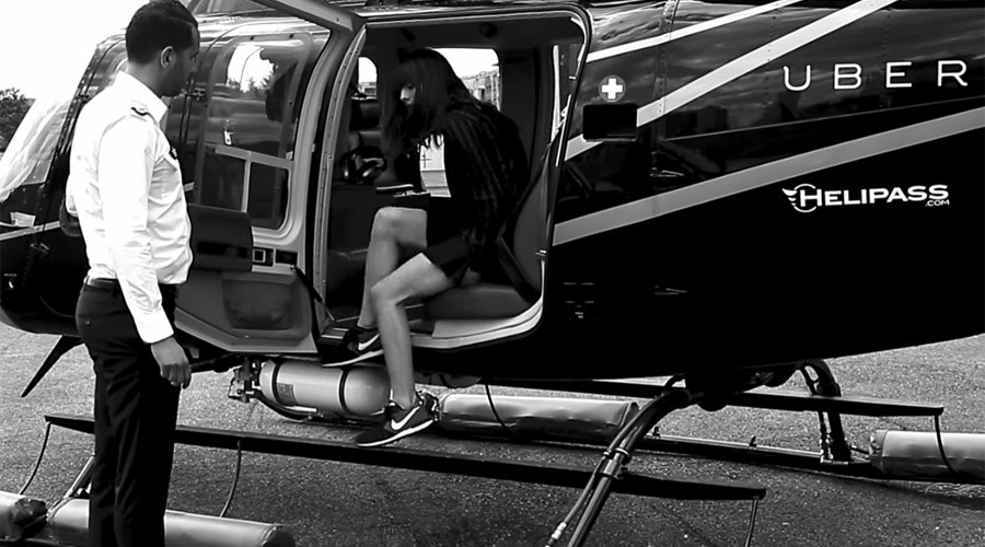 Uber takes to Brazilian skies with helicopter service
