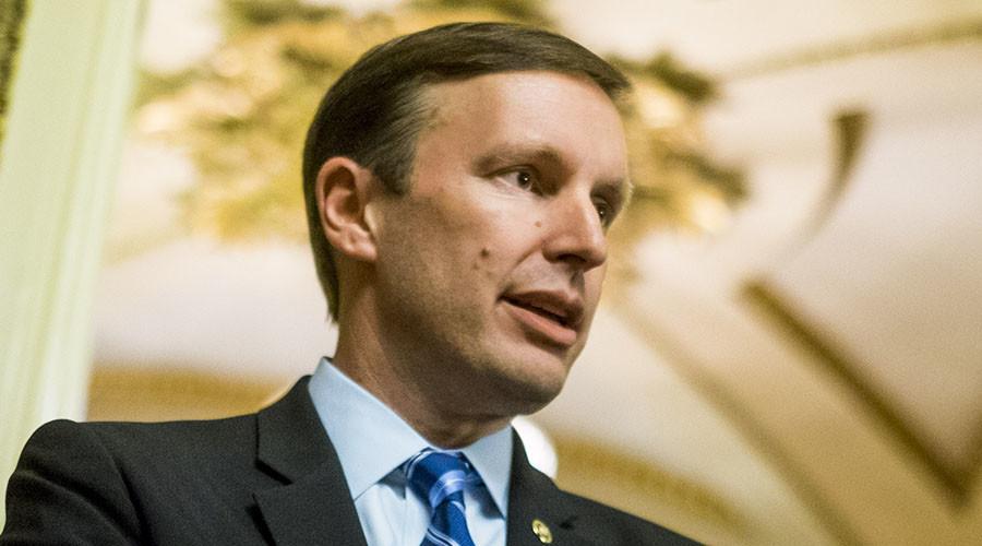 Senator Chris Murphy (D-CT). ©Pete Marovich / Getty Images / AFP