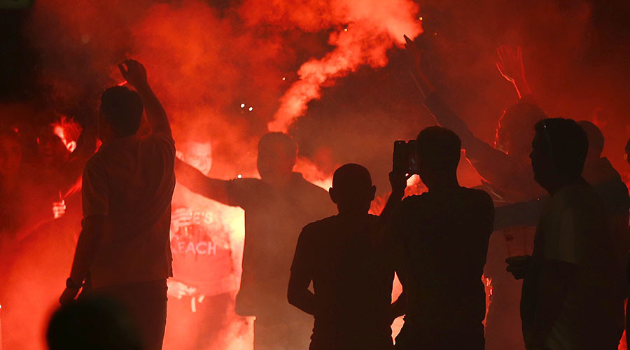 UEFA 'regrets' violence in Lille ahead of England-Wales