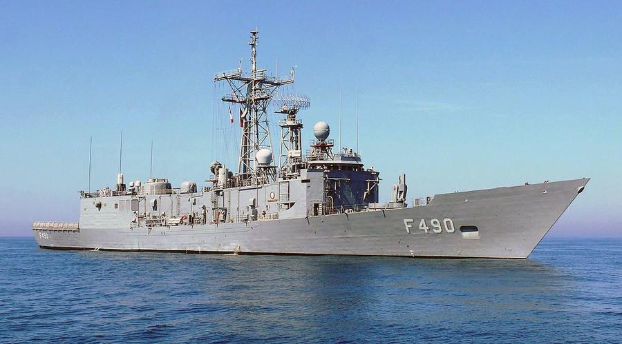 Turkish Navy's F-490 TCG Gaziantep frigate. © Wikipedia