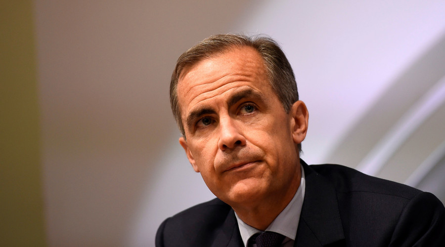 Governor of the Bank of England Mark Carney. © Dylan Martinez