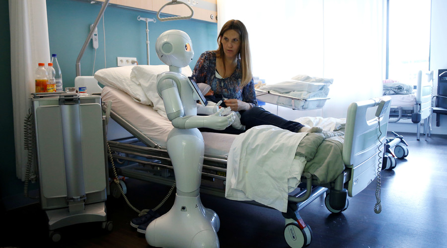 World's first 'emotional humanoid' joins ranks at Belgian hospitals (VIDEO)