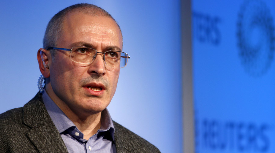 Over 20,000 sign US petition to probe Russian tycoon Khodorkovsky over 'paying' for anti-Putin bill
