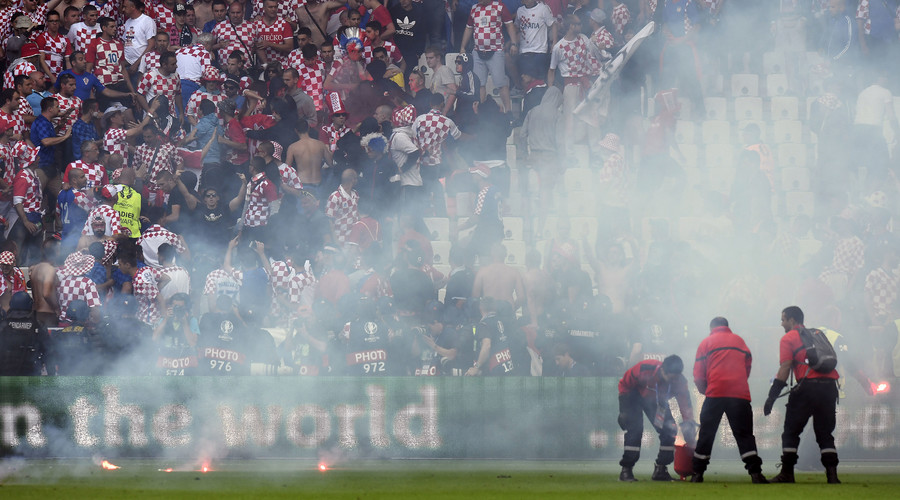 Croatia faces UEFA sanctions following crowd trouble at Euro 2016