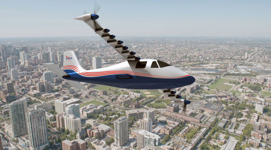 Introducing 'Maxwell': NASA reveals experimental electric X-plane (VIDEO)