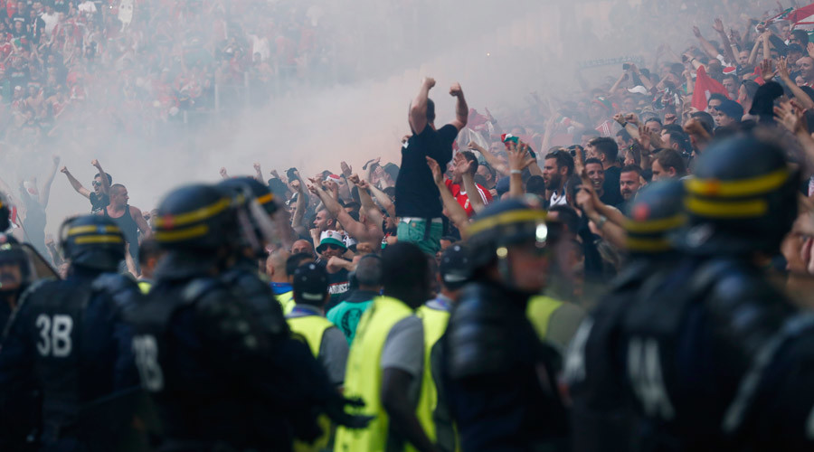 UEFA charges for Hungary, Belgium & Portugal after latest Euro 2016 fan trouble (VIDEOS, PHOTOS)
