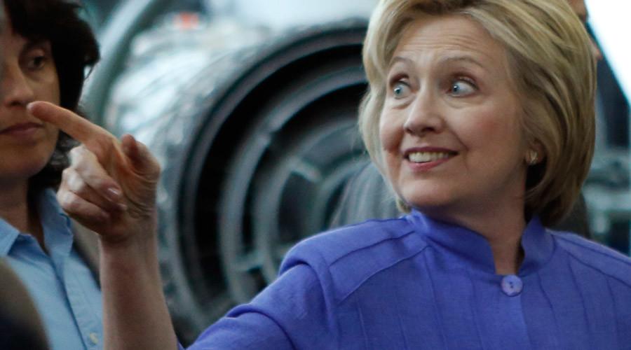Democratic U.S. presidential candidate Hillary Clinton © Gary Cameron