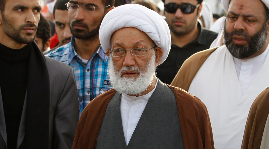 Bahrain's leading Shi'ite cleric Sheikh Isa Qassim © Hamad I Mohammed