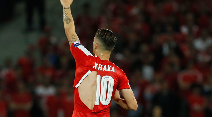 'I hope they don't make condoms': Swiss star jokes as 4 Puma jerseys rip during Euro 2016 game