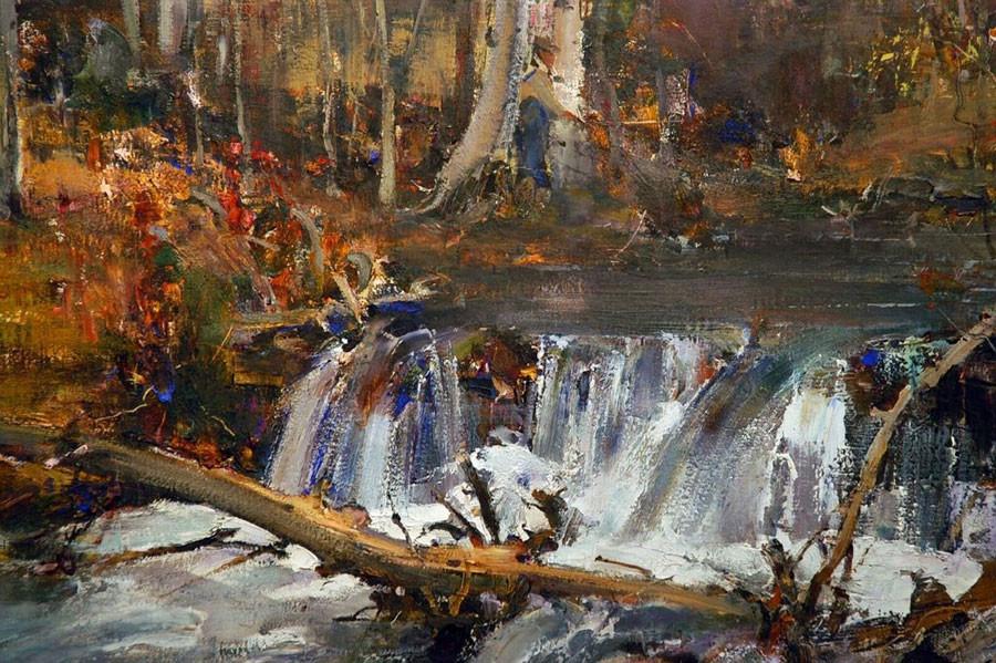Nicolai Fechin. Beaver Dam (1927-1933) © Art Russe