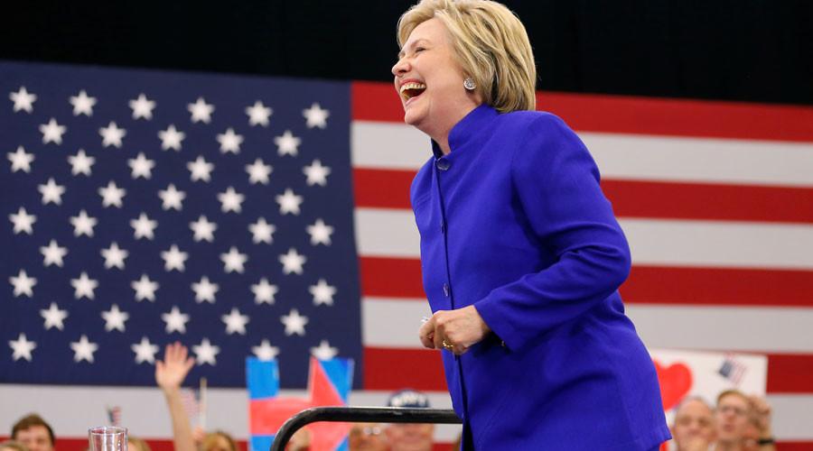 U.S. Democratic presidential candidate Hillary Clinton © Mike Blake