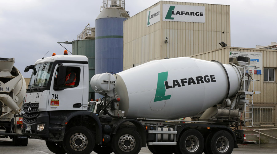 French industrial giant Lafarge paid taxes to ISIS