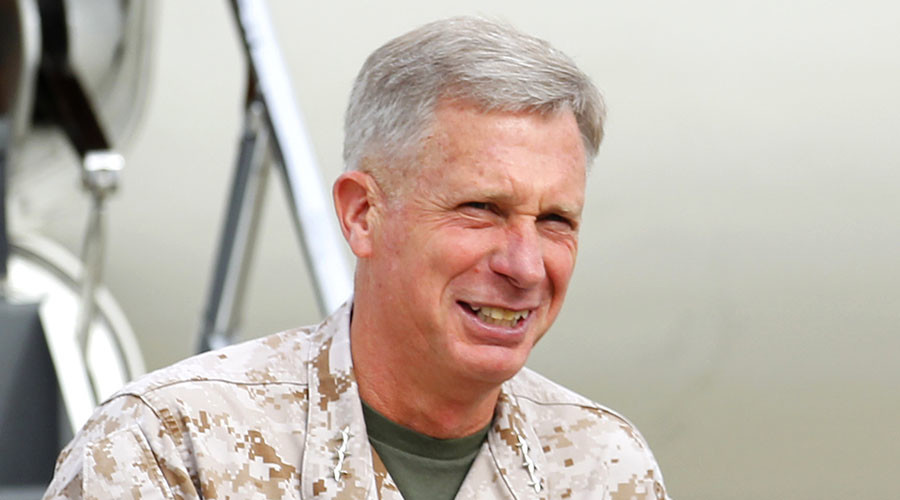 Lt. General Thomas Waldhauser. ©Reuters