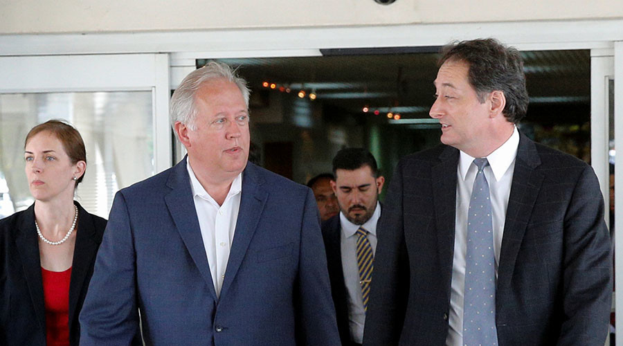 US diplomat headed to Caracas amid food shortages in Venezuela
