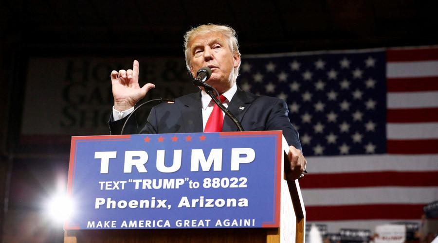 Republican U.S. Presidential candidate Donald Trump © Nancy Wiechec
