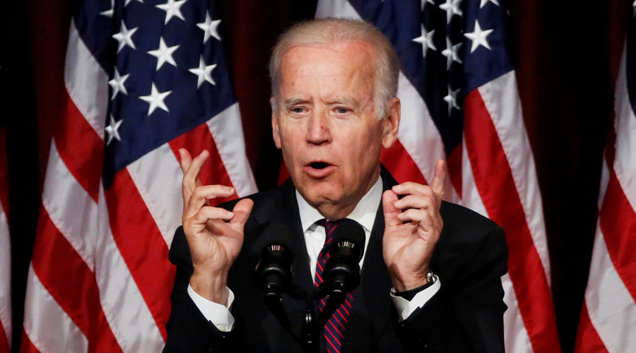 'Freudian slip': VP Biden says he wants Syrian president named 'Saddam' to go