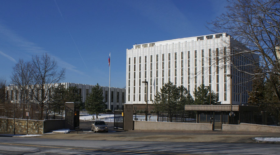 Embassy of Russia in Washington DC. © Wikipedia