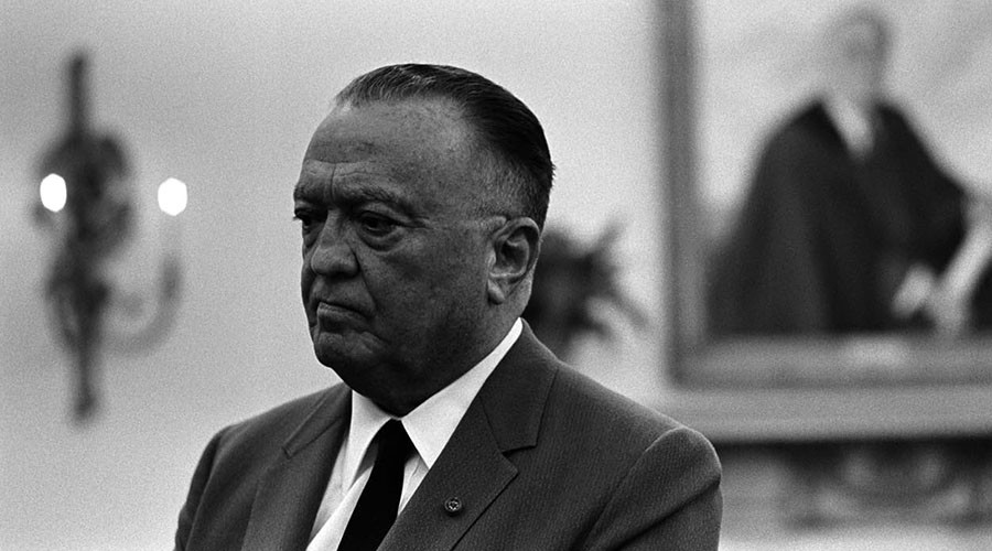 J Edgar Hoover, the first and arguably most ruthless FBI Director. © Wikipedia