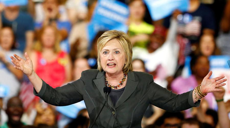 Democratic U.S. presidential candidate Hillary Clinton © Jason Miczek