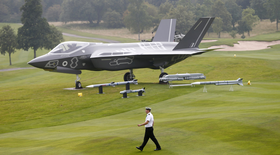 UK stealth jets must be repaired in US... despite being made by British arms firm