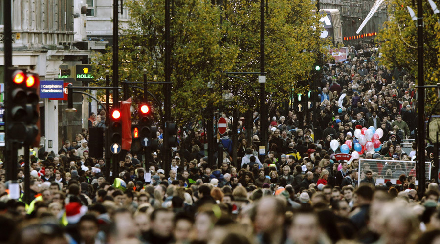 UK population grew by 500,000 to 65.1mn last year