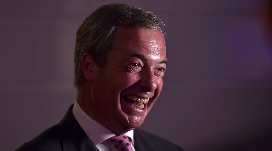 Nigel Farage, the leader of the United Kingdom Independence Party (UKIP). © Toby Melville