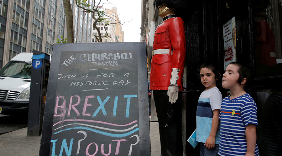 'Scared for the future': Internet in meltdown over Brexit vote