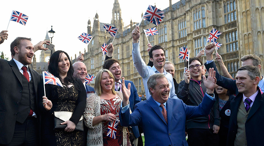 'June 23rd will go down in history as our independence day' - Nigel Farage (VIDEO)