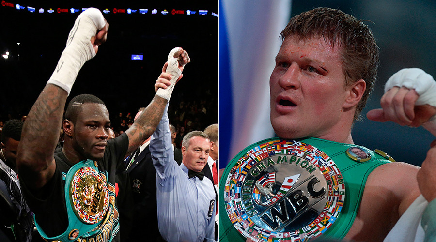 Wilder & Povetkin will fight in the court
