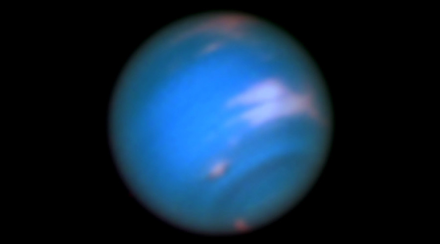 NASA finds new 'dark vortex' looming over Neptune (PHOTO)
