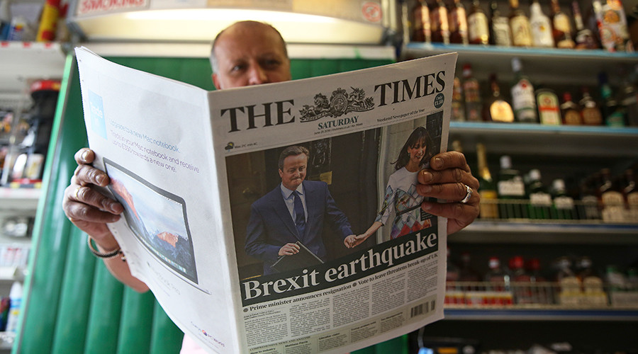 #Brexit in 5 words: UK still digesting shock EU referendum result