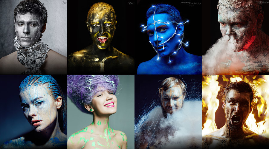 Art of science: Russian geeks make chemistry cool by turning themselves into elements (PHOTOS)