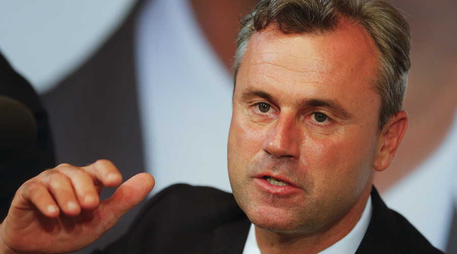 Former presidential candidate Norbert Hofer of the Austrian Freedom Party (FPOe) © Heinz-Peter Bader