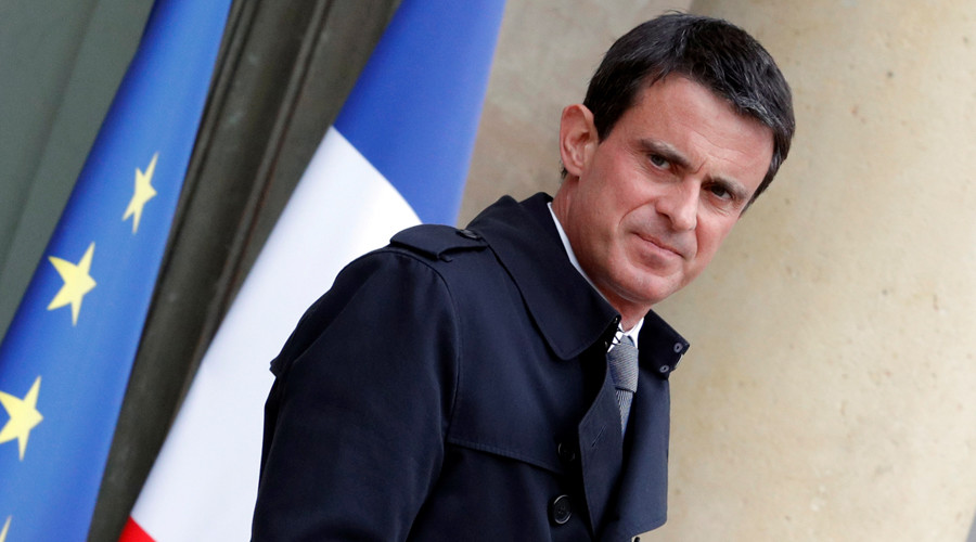 French Prime Minister Manuel Valls © Philippe Wojazer