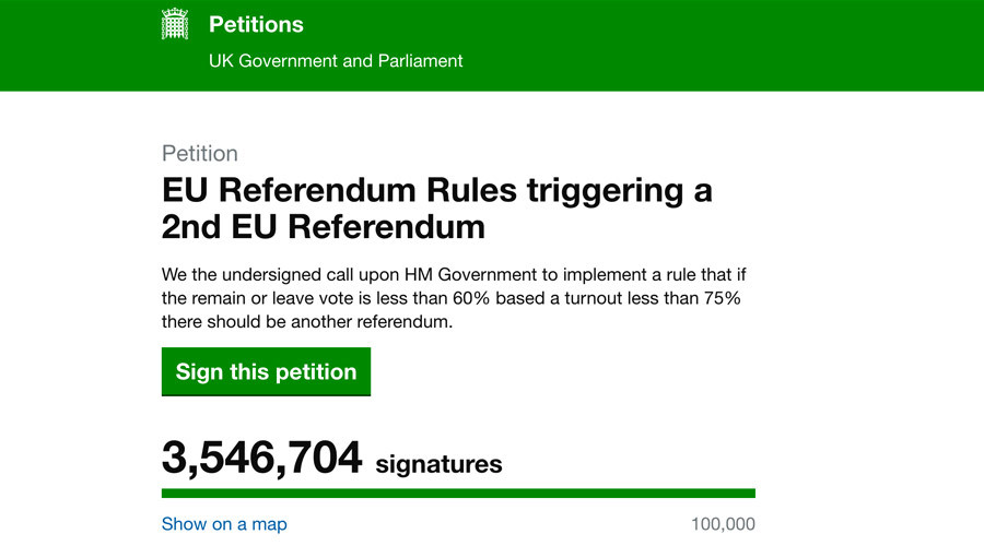 © petition.parliament.uk