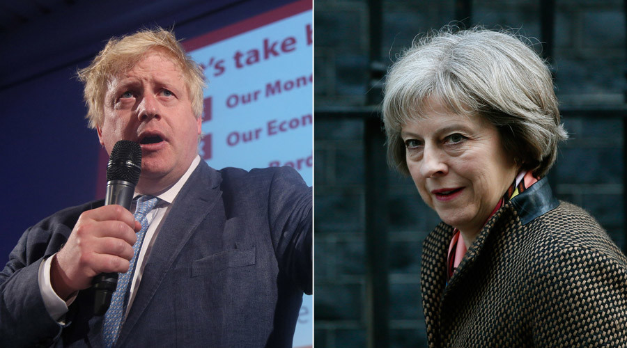 Who will succeed Cameron? Boris Johnson & Theresa May favorites for Britain's top job