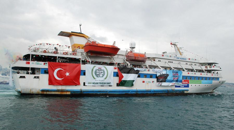 The MV Mavi Marmara © Wikipedia