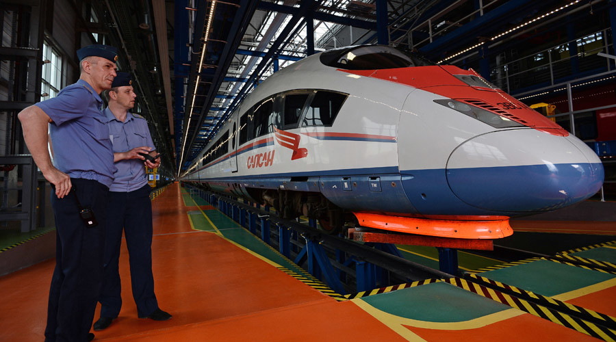 Russia & China agree production of high-speed trains