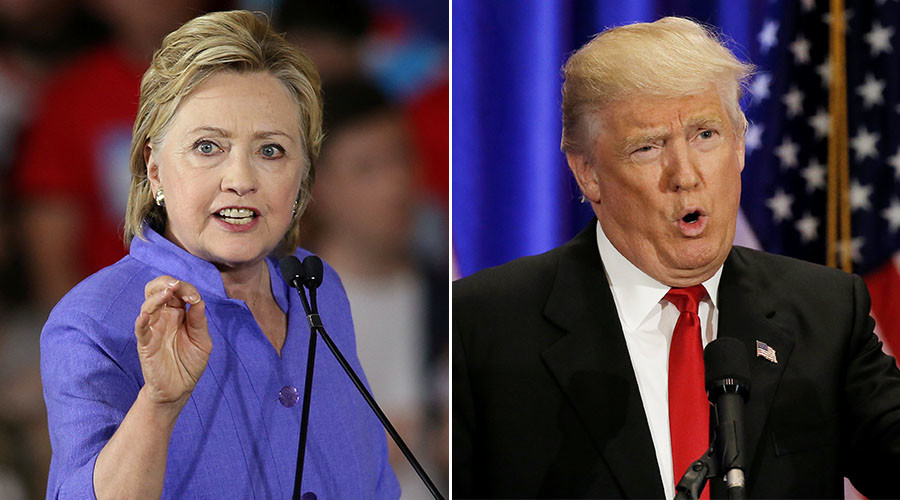 Clinton shows double-digit lead in new poll as Trump slips behind
