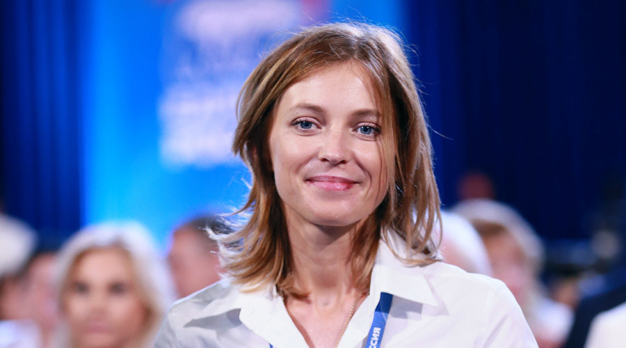 Crimea prosecutor Poklonskaya ready to run for parliament on pro-Putin party ticket