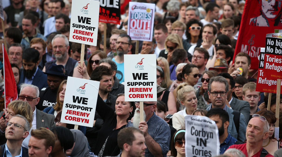 Corbyn 'no confidence' vote expected… but grassroots rally for Labour leader Jezza