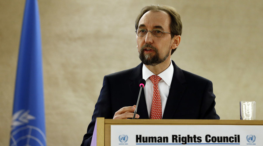 United Nations (U.N.) High Commissioner for Human Rights Zeid Ra'ad Al Hussein © Denis Balibouse
