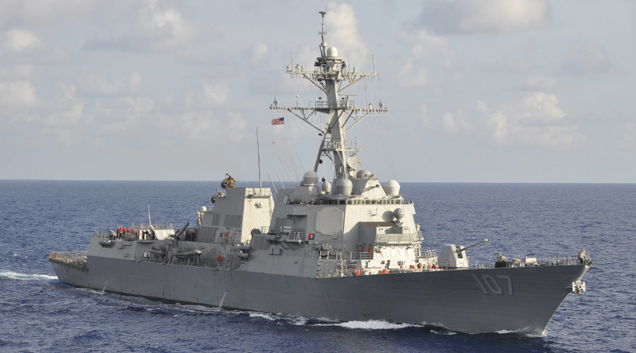 The Arleigh Burke-class guided-missile destroyer USS Gravely  © Lt. Cmdr. Corey Barker / U.S. Navy