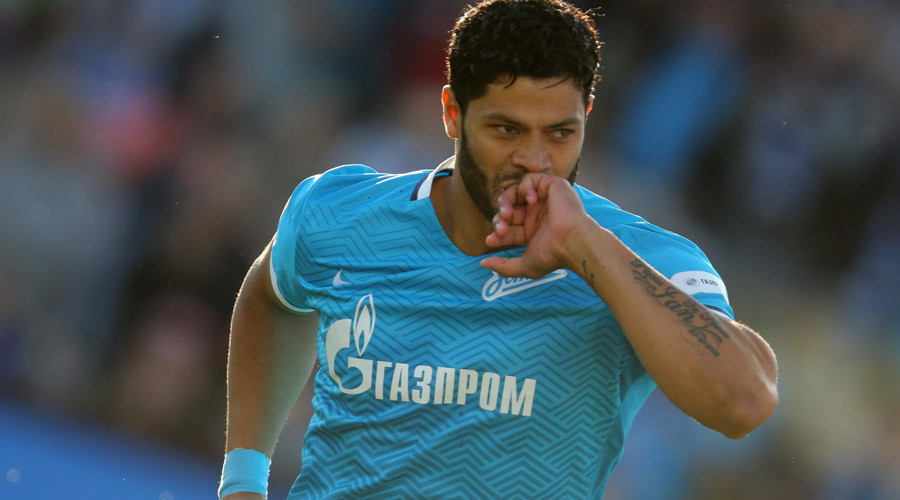Zenit star Hulk set for $60mn move to China