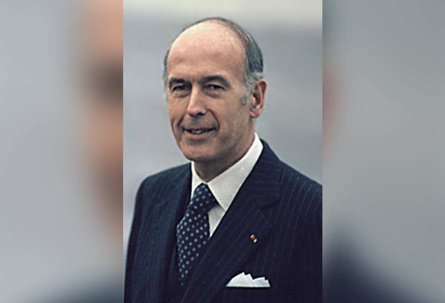 Valéry Giscard d'Estaing © Wikipedia